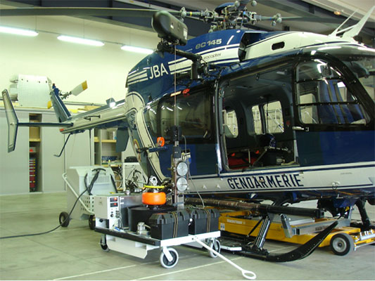 Rescue Hoist Ground Support Equipment